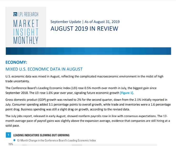 Market Insight Monthly | August 2019